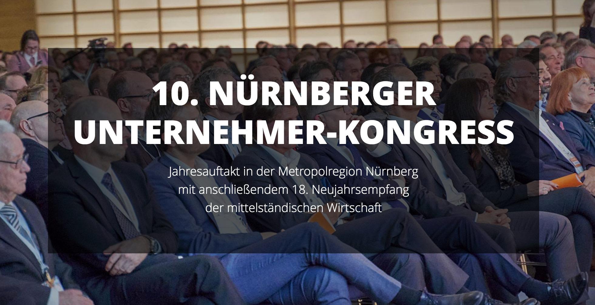 #MissionZukunft – 10. Nürnberger Unternehmer-Kongress