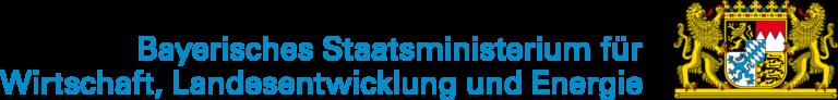 Logo Bayerisches Staatsministerium für Wirtschaft, Landesentwicklung und Energie