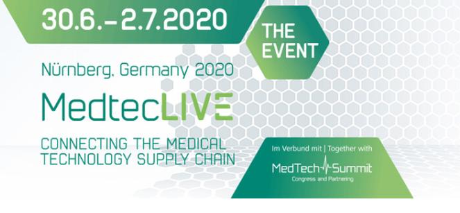 Virtuell: Medtec LIVE und MedTech Summit Congress & Partnering