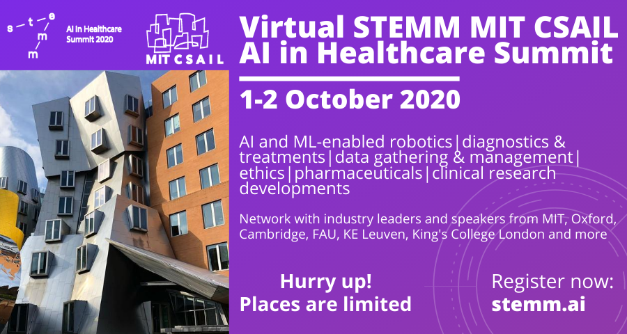Virtual STEMM MIT CSAIL AI in Healthcare Summit