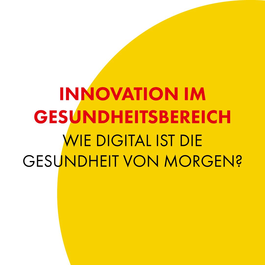 Industry Talk - Innovation im Gesundheitsbereich