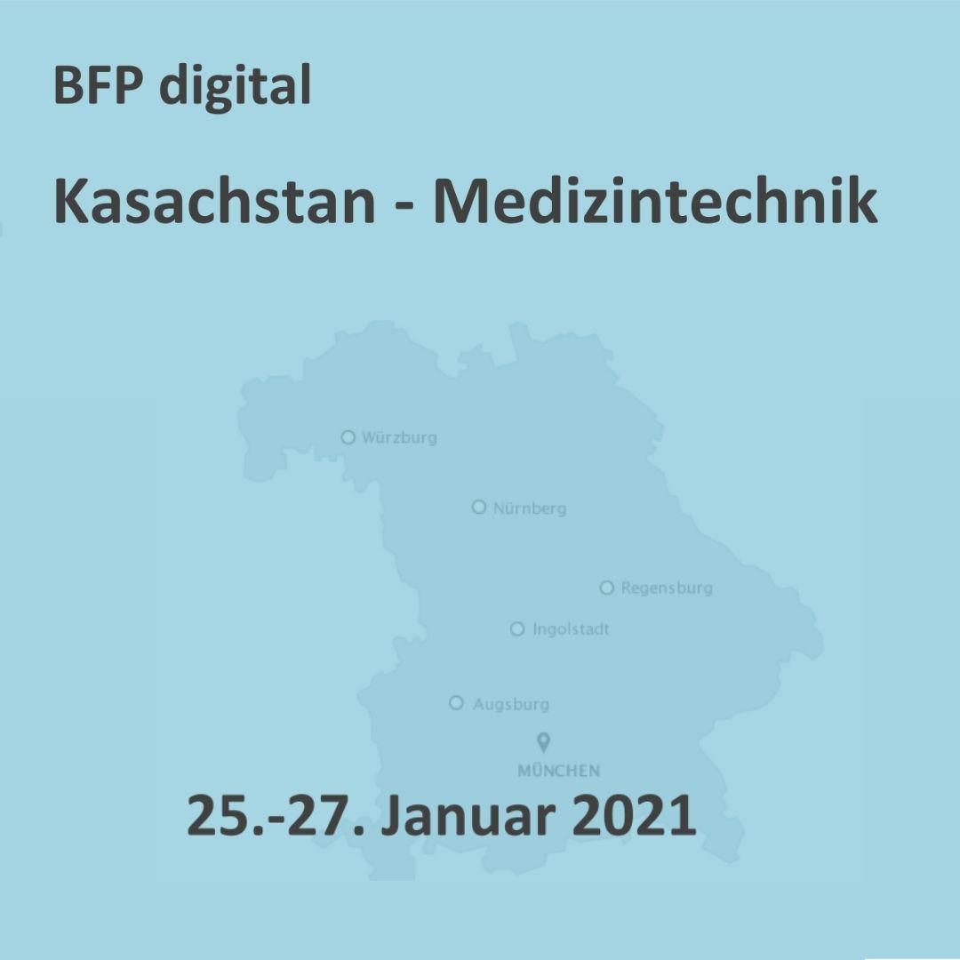 BFP digital – Medizintechnik für Kasachstan