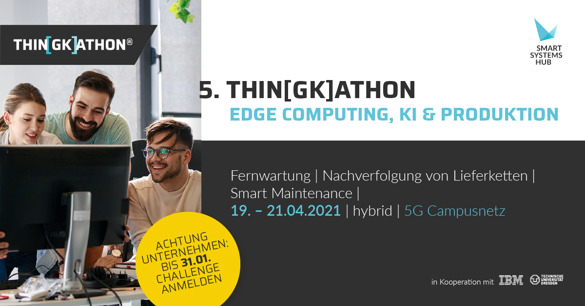 5. THIN(GK)ATHON - edge computing, KI & Produktion