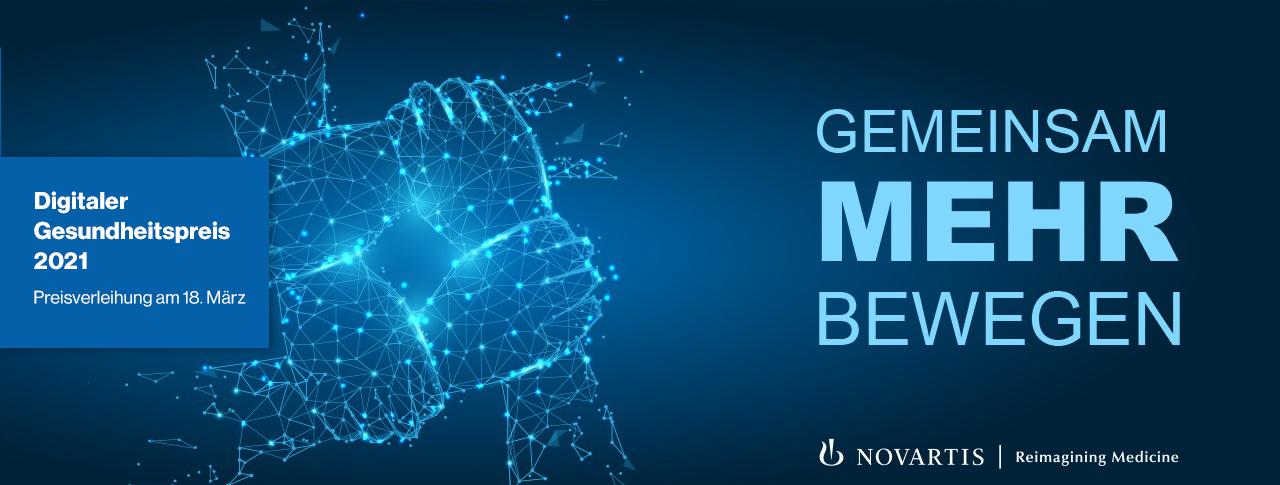 Virtuelle Preisverleihung Digitaler Gesundheitspreis 2021 | Novartis Deutschland