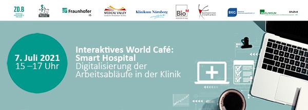 Interaktives World Café: Smart Hospital – Digitalisierung der Arbeitsabläufe in der Klinik