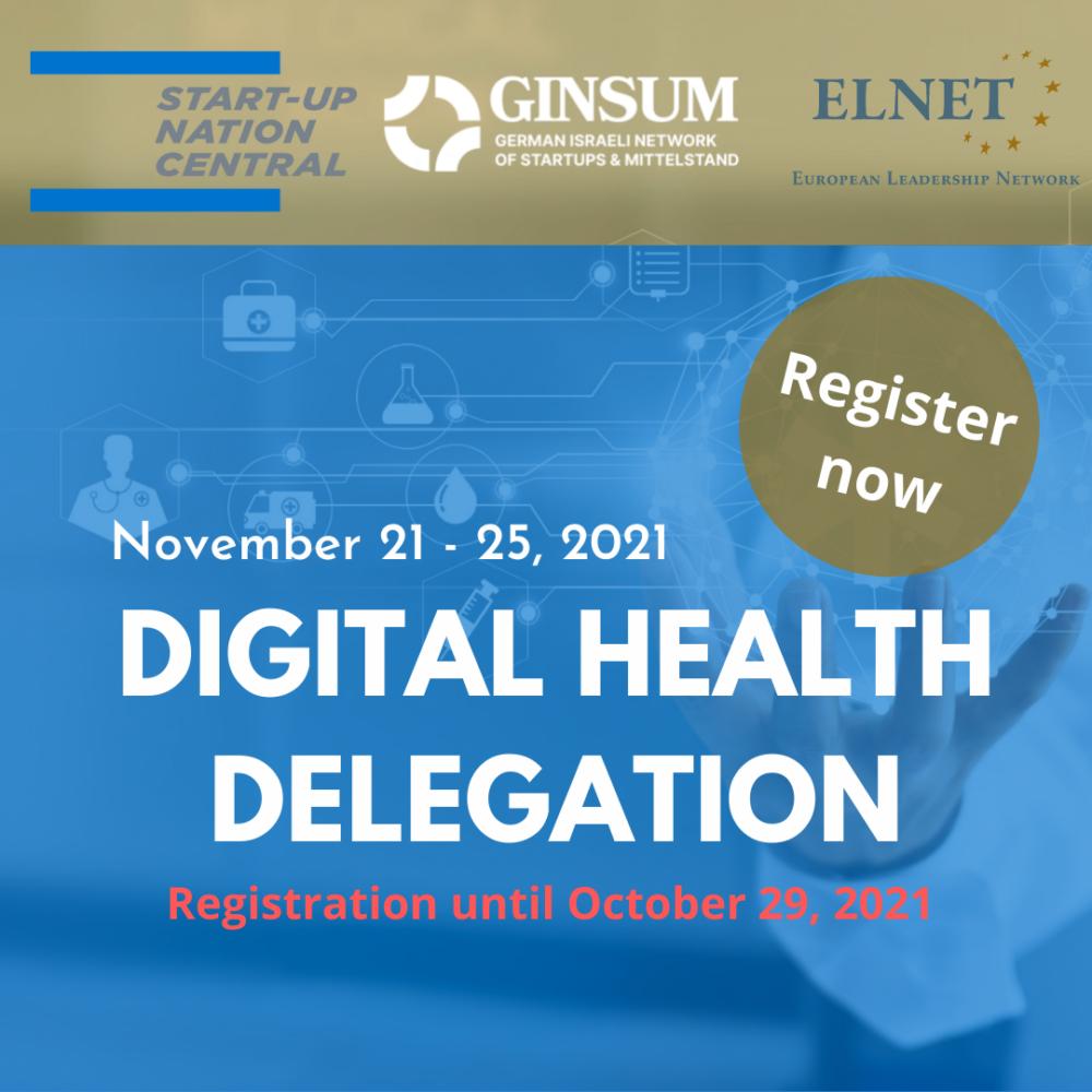 Digital Health Delegation nach Israel | GINSUM
